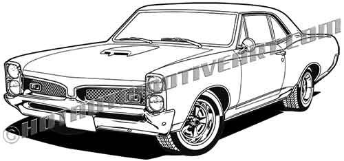 1967 pontiac gto clip art  buy two stock images  get one stock image free