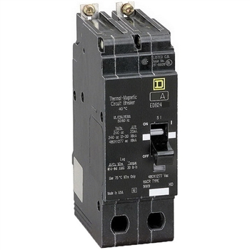 Square-D SQD EDB24020 Circuit Breaker Refurbished
