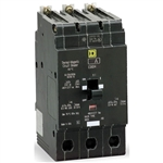 Square-D SQD EDB34125 Circuit Breaker Refurbished
