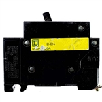 Square-D SQD EHB14015 Circuit Breaker Refurbished