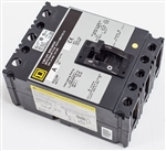 Square-D FCL34100 Circuit Breaker New