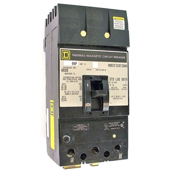 Square-D SQD KH26110AC Circuit Breaker Refurbished