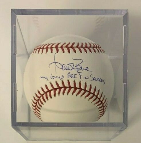 Aaron Boone Signed Rawlings Baseball With Inscription