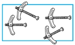Mars 80178 - Spring Wing Toggle Bolt Kit
