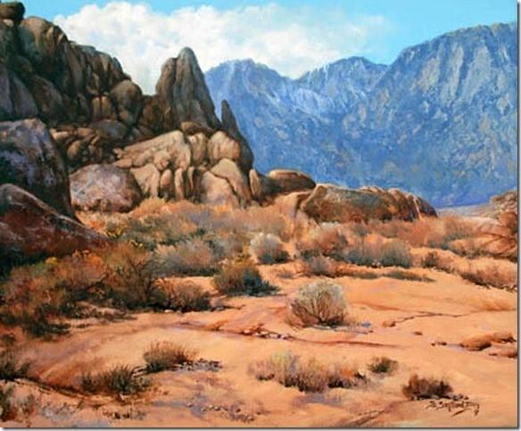 Pinnacle Original California Landscape Oil Painting
