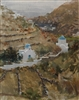 """In the Greek Islands (Sifnos)"", Frank LaLumia Oil Painting"
