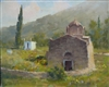 """Peloponnese, Greece"", Frank LaLumia Oil Painting"