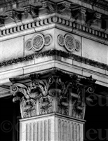 """Corinthian Column I', Don Saban Fine Art Giclee"