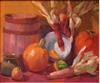 """Harvest Still Life"", Beatrice Stuart Oil Painting"