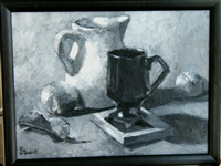 """Study in Gray & Black II"", Beatrice Stuart  