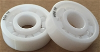 6705 ZRO2 T9/C3 LD, 25x32x4 mm, KIT7877, ABEC357, Full Ceramic, Zirconia ZrO2 Inner/Outer/Balls, Open, PTFE Retainer, C3 Fit, Lube Dry.