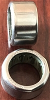 10x14x8 mm, S-HF1008, Stainless Steel One Way Bearing with steel springs.