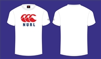 NU Rugby League Logo tee