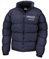 Newcastle Uni Judo Puffer Coat - Men's Fit