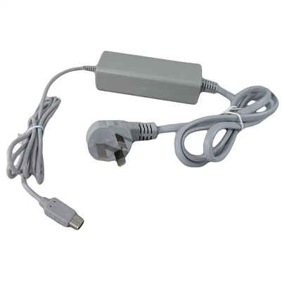 AC Charger Cable / Power Supply for Nintendo Wii U Gamepad Controllers