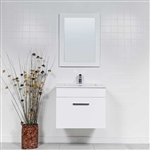 24 inch floating vanity Bathroom Vanity Style 5025