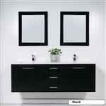 Floating Double Sink Vanity Style 5060