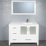 Vanity 7048 with Offset Sink