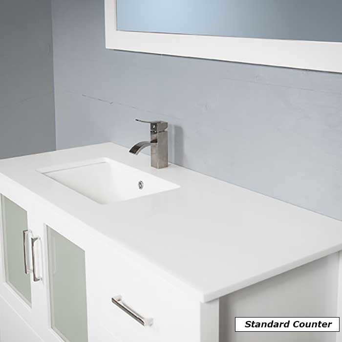 7048 48 Traditional Bath Vanity With A Sink On The Right Modernbathrooms Ca