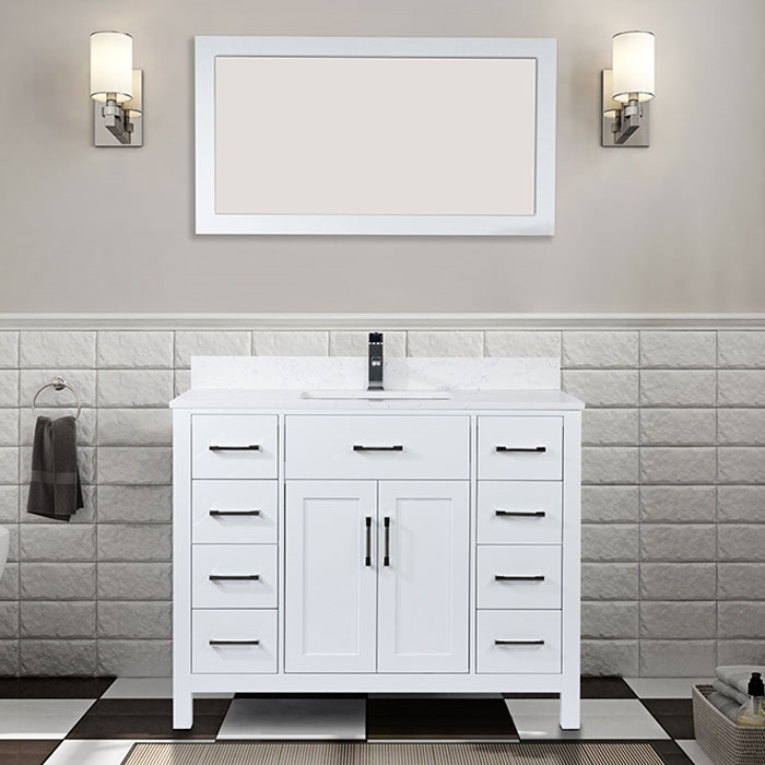 Remarkable Vanity Style 7142 Home Interior And Landscaping Ponolsignezvosmurscom