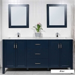 72 inch Double Sink Vanity Style 9173