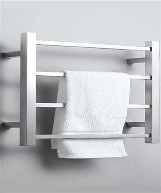 4 bar heated towel bar