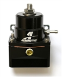 AEROMOTIVE A1000 BLACK FUEL PRESSURE REGULATOR