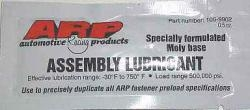 ARP Moly Fastener Assembly Lube
