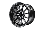FRONT OR REAR BLACK HAWK DRAG RACE 4 LUG WHEEL 15X8 4X100/114.3 20 OFFSET GREAT FOR HONDA CIVIC CRX ACURA INTEGRA // PART # VWBH001