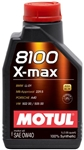MOTUL 8100 X-MAX 0W40 1L Bottle (1.05 qt)
