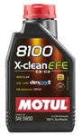 MOTUL 8100 X-CLEAN EFE 5W30 1L Bottle (1.05 qt)