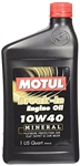 MOTUL BREAK-IN MINERAL OIL (.95 L)