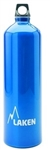 Futura Water Bottle Narrow Mouth Screw Cap with Loop 50oz Blue