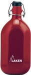 Octogonal Water Canteen 34oz (1L) Red
