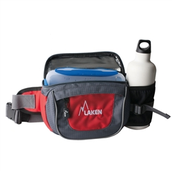Mini-Trek waist bag including lunch box