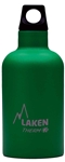 Laken Futura Thermo Vacuum Insulated Stainless Steel Water Bottle Narrow Mouth with Loop Cap 12oz Green