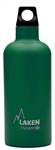 Laken Futura Thermo Vacuum Insulated Stainless Steel Water Bottle Narrow Mouth with Loop Cap 17oz Green