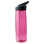 Laken Tritan Sport BPA Free Wide Mouth Water Bottle w/Flip Straw Cap 25oz - Pink