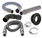 "ProTeam OEM Part # 100505 Hose,Vac,1.5""X 54""LG,Crshproof,Anti-Static,BLK,W/Swivel Cuffs"