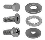 Tornado OEM Part # 00064 Screw Phil. Oval Hd Mach 1/4 20 X 3/4 (Ss)