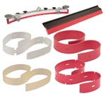 ProTeam OEM Part # 100598 Squeegee Blade Set,Replacement
