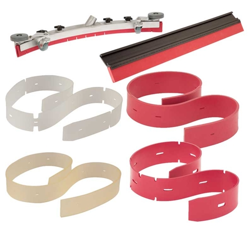 Aftermarket Squeegee Set - Fits Clarke 30935A, 30934A (Oem Var-Red)