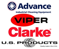 Advance OEM Part # 56016745 Decal Clarke