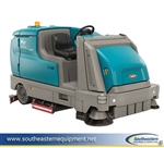 Demo Tennant M17 Battery Powered Ride On Sweeper Scrubber Ech20