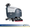 New Advance SC401 B Traction Drive Scrubber with 105 Ah Wet Batteries