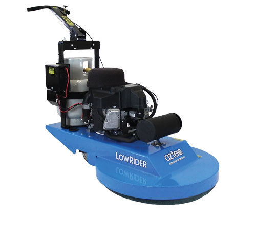 "New Aztec LowRider 27"" Propane Burnisher w/ Dust Control"