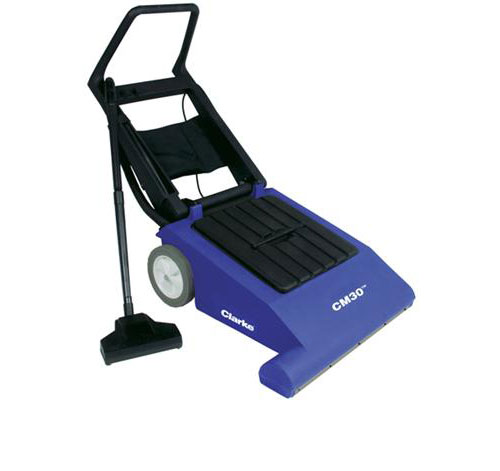 New Clarke CarpetMaster 30 Wide Area Vacuum