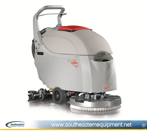 New Comac CB50 20 Walk Behind Scrubber Pad Assist