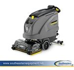 New Karcher B 60 W Bp Floor Scrubber - Scrub Deck Sold Separately, 24V/230 Ah AGM Batteries