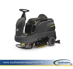 New Karcher B 90 R Adv Bp Ride-On Floor Scrubber - (squeegee assembly, battery, charger and cleaning head sold separately)